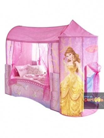 Mamme domani arredare la cameretta dei pi piccoli con i - Letto delle principesse ...