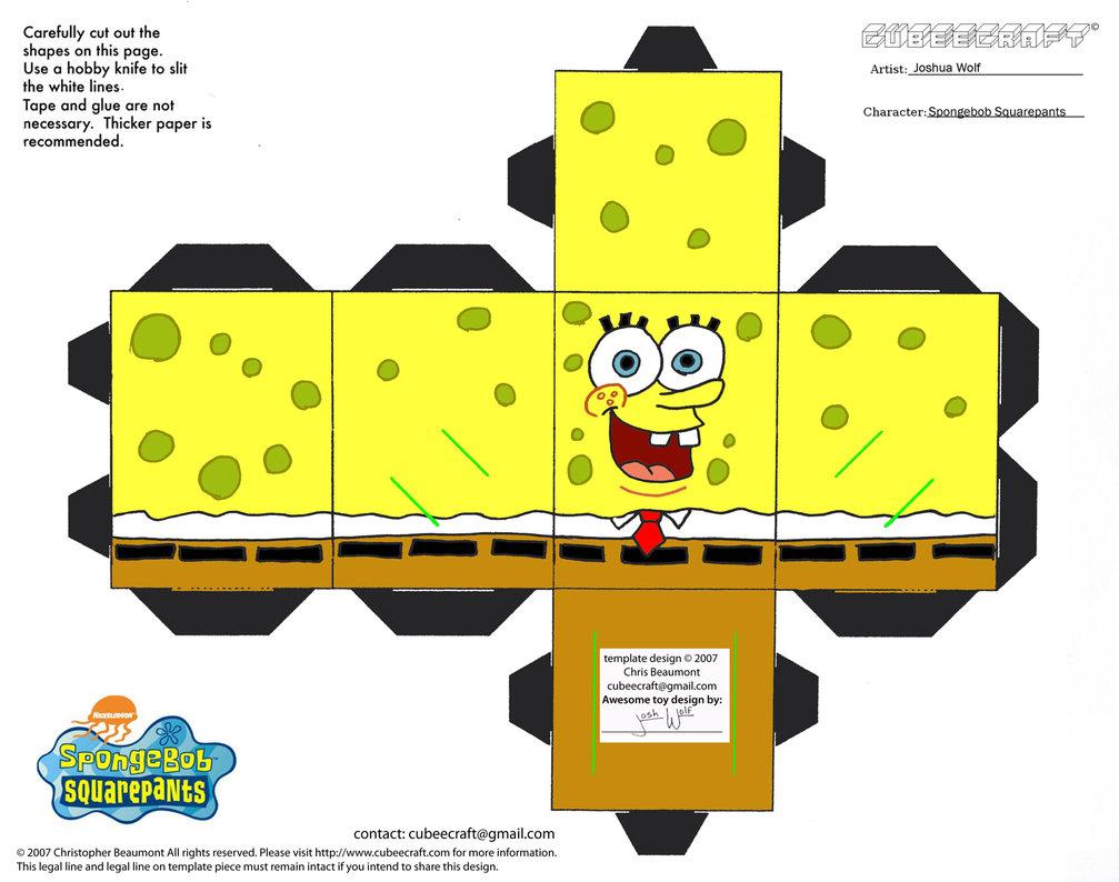 Super Mamme Domani   Spongebob Mania: biscotti, torte e pupazzini da  PC94